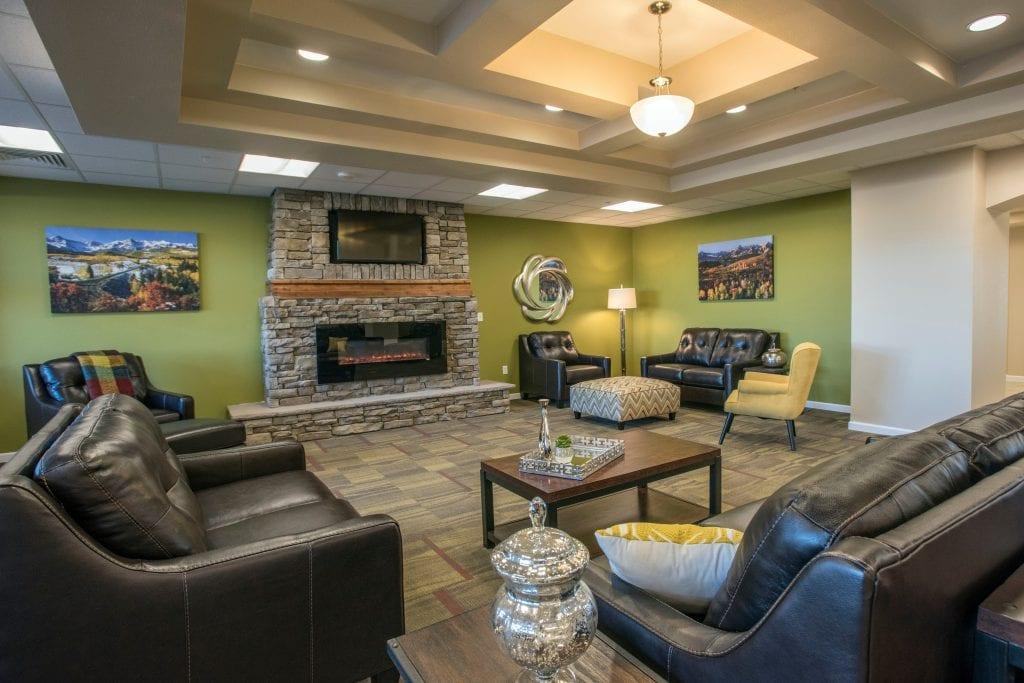 Oakshire living room