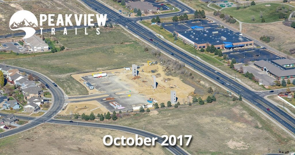Progress on Peakview Trails in Greeley, Colorado