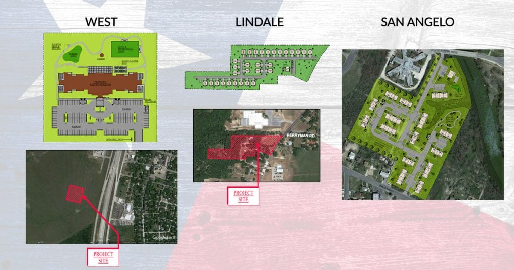 Announcing 3 New Developments In Texas